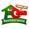 Logotipo Restaurante Tu Casa en Tuxpan