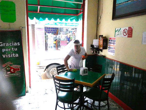Restaurante Tu Casa en Tuxpan, rico, limpio y seguro