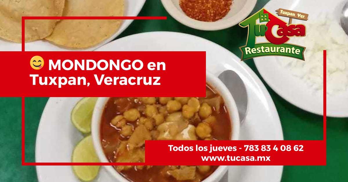 Comer mondongo en Tuxpan, Veracruz - Restaurante Tu Casa
