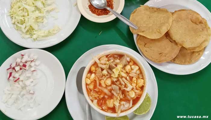 Comer pozole en Tuxpan, Veracruz del restaurante Tu Casa