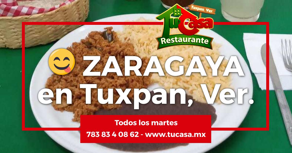 Zaragaya (Saragalla) Tuxpan, Veracruz del Restaurante Tu Casa - JS